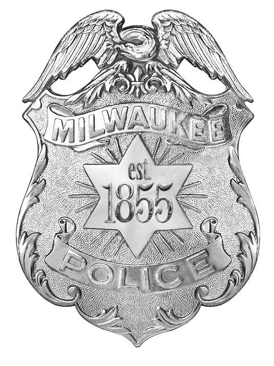Milwaukee police badge
