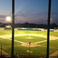 The Battle Creek Bombers defeated the Kalamazoo Growlers on Thursday at C.O. Brown Stadium.