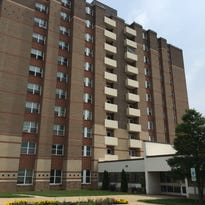A man fell 10 stories to his death at Aston Park Tower