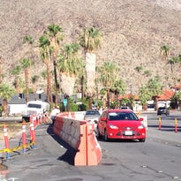 Hotel project causes lane closure