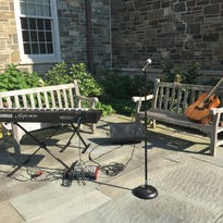 The Poughkeepsie Journal Patio Sessions stage.