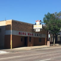 The public can write ideas for future uses for Ming Wah through Oct. 9 on a sign that will be placed at the building.