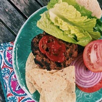 These Asian beef-and-mushroom burgers include ponzu, a citrus-based sauce used often in Japanese cooking.