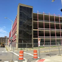 Demolition of the Collier Street parking garage begins Monday in downtown Binghamton.