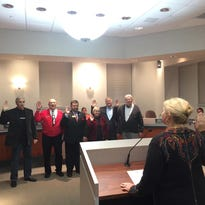Union, Florence officials sworn in