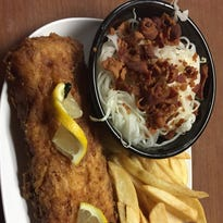 Fish logs at the Old Timber Inn and how I became a Cincinnatian