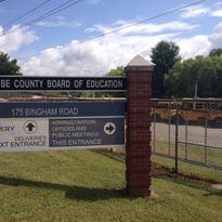 Buncombe County Schools administrative offices.