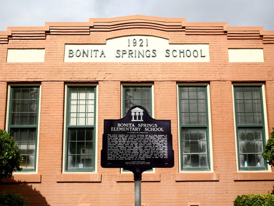 Bonita Springs Elementary School is the only building in the city on the National Registry for Historic Places.