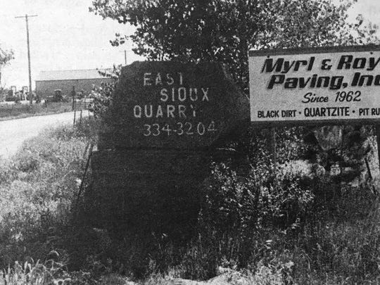 East Sioux Quarry, which is owned by Myrl & Roy's Paving, Inc., was granted a conditional use permit in 1997 that allows the company to expand quarry operations to cover 160 acres of Split Rock Township.
