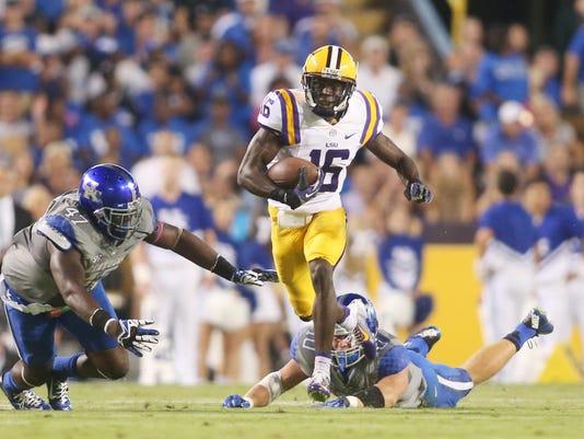 NCAA Football: Kentucky at Louisiana State