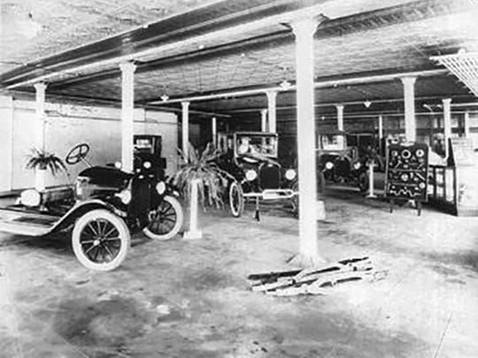 Hare Chevrolet in the early 20th century, when it was W. Hare & Son.