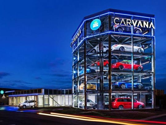 Nashville Used Cars >> View app--pick up car from vending machine
