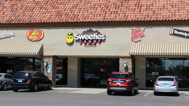 Sweeties Candy of Arizona is a massive candy emporium in Chandler.