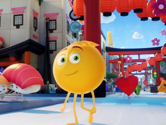 """The Emoji Movie"" will be shown at Mill Race Park on Friday."