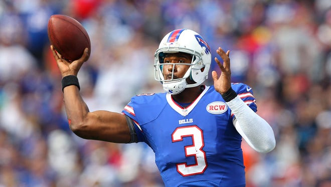 EJ Manuel is one of four quarterbacks on the Bills' roster.