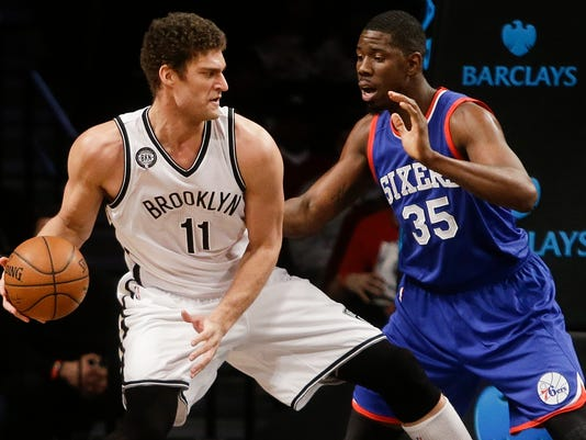 Brook Lopez, Henry Sims