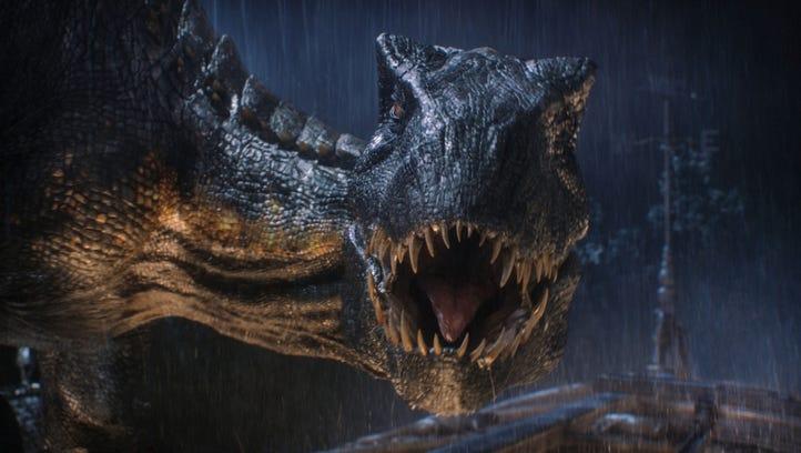 "The Indoraptor brings the menace in ""Jurassic World:"