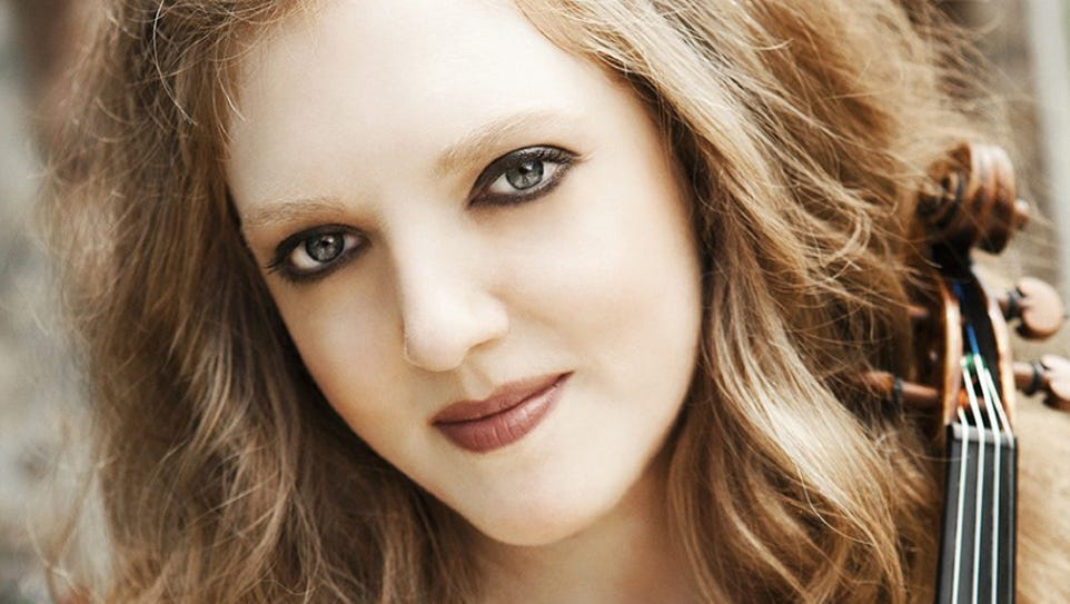 Rachel Barton Pine will perform in Oak Ridge on April