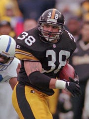Former FB Jon Witman played for the Steelers from 1996