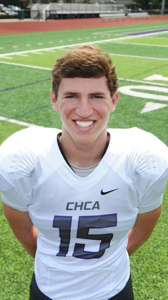 CHCA quarterback Johnny Noyen and the Eagles are projected to be a playoff qualifier.