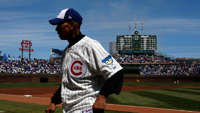 Ernie Banks died of a heart attack at 83.