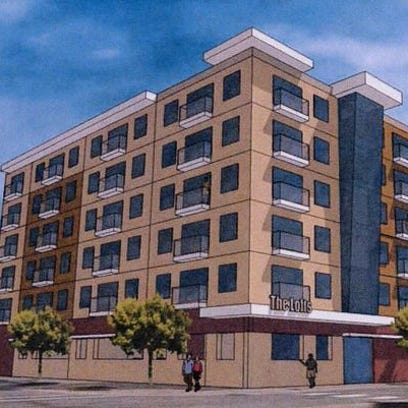 A developer is proposing loft-style condominiums at 523 St. Germain St.