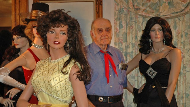 """Dale """"Mike"""" Martin had an extensive collection of mannequins at his home that he called his glamour girls."""
