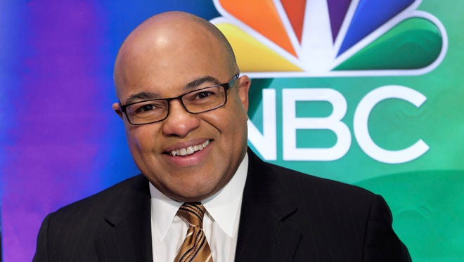 Mike Tirico, NBC's primetime host for the Winter Olympics.