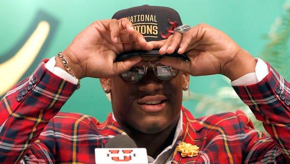 "Five-star Alabama linebacker commitment Lyndell ""Mack"""