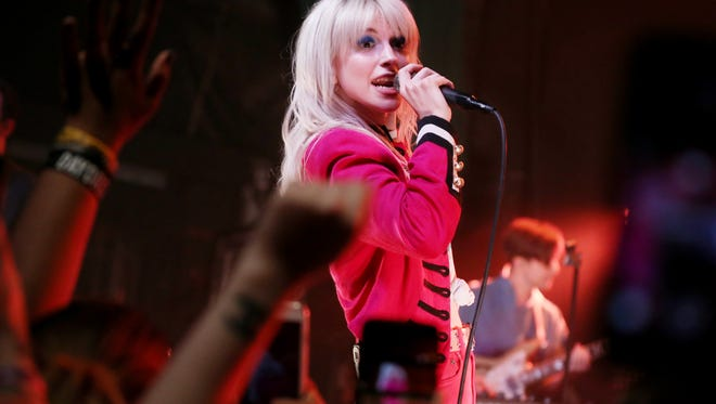 Paramore performs during a special show at Exit/In Wednesday May 10, 2017.