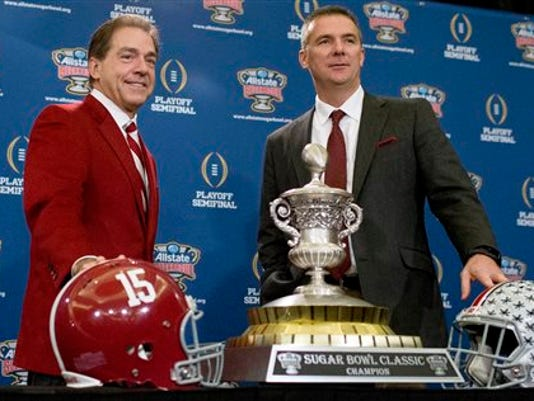 Nick Saban, Urban Meyer