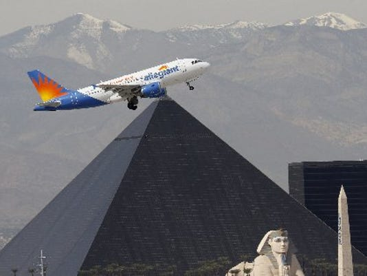 Allegiant expands MEM-LAX flight