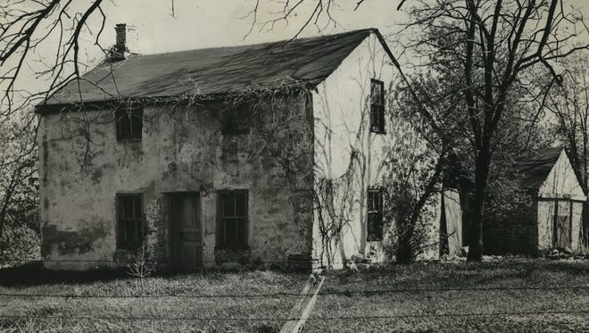 The Jeremiah Curtin homestead on Grange Ave. in Greendale is shown in this 1936 photo, before it was preserved and restored.