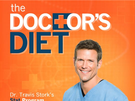 'The Doctors Diet' by Travis Stork, a coh-host of 'The Doctors' is on USA TODAY's best-selling books list.
