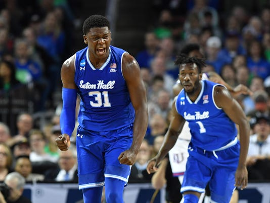 NCAA Basketball: NCAA Tournament-Second Round-Kansas vs Seton Hall
