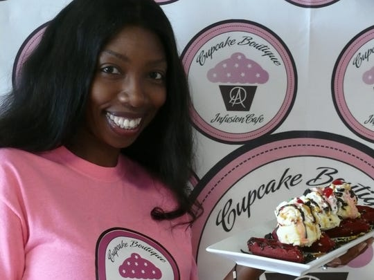Annetta Hoyte of DA Cupcake Boutique in West Melbourne likes to push the envelope with cupcakes.