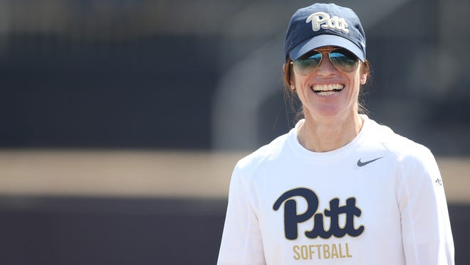 Coach Holly Aprile departed Pittsburgh's softball program after 10 seasons in charge to take over Louisville's team.