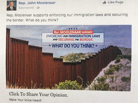 moolenaar fb ad border wall