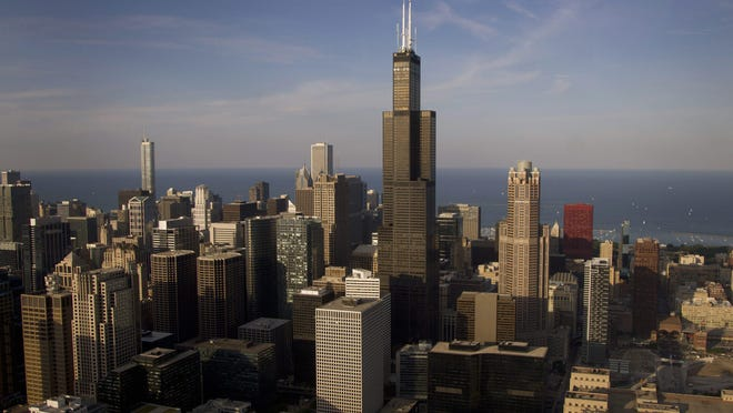 The Chicago skyline pictured on Friday, June 15, 2012.