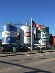 These signature tanks at Genesee Brewing would be demolished