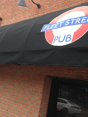Work continues on the new Fleet Street Pub at 216 Shannon St.