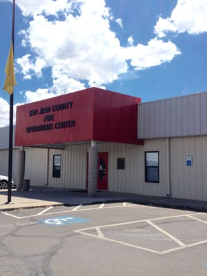San Juan County, federal and Navajo Nation officials held a meeting on Monday at the county's Fire Operations Center in Aztec to address concerns about the fire that broke out last week at a WPX Energy oil production site in Nageezi.