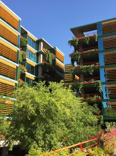 The Optima Sonoran Village apartments opened in 2013 near Scottsdale and Camelback roads.