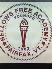 File image of Bellows Free Academy logo.