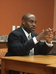 Brevard Public School Superintendent Desmond Blackburn