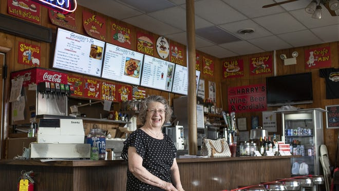 Deborah Foster has been a waitress for 50 years at Harry's Restaurant in Westboro. She retired in June.