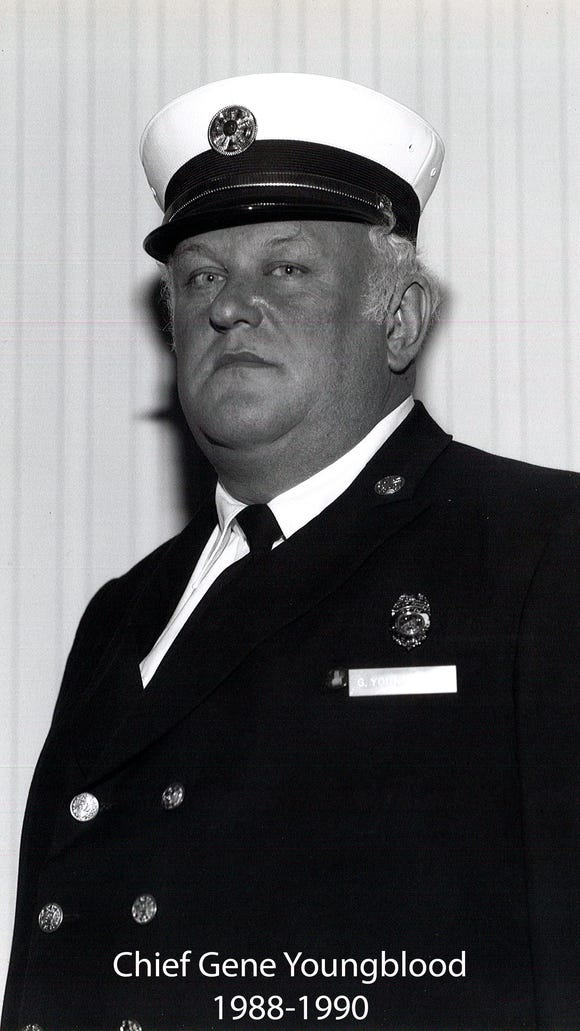 Gene Youngblood, Chili firefighter from 1975-1999