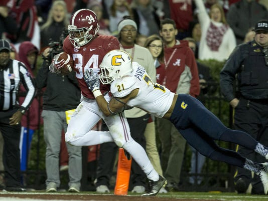 NCAA Football: Chattanooga at Alabama