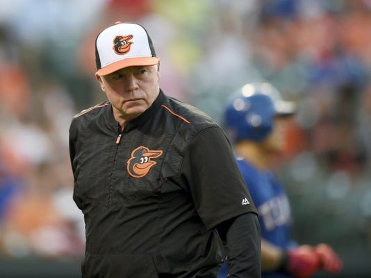 """Baltimore manager Buck Showalter believes the Orioles' """"best baseball is ahead of us."""""""