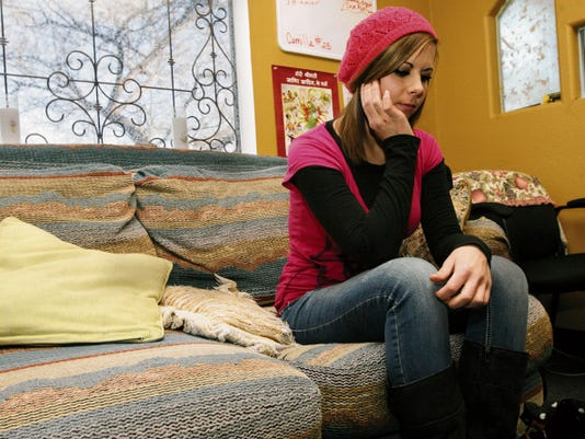 Kelly Lacen was a newly divorced 24-year-old when she met the man who would become her boyfriend and then her trafficker. Now 27, she is in recovery at a nonprofit center in Santa Fe that helps the victims of sex trafficking.